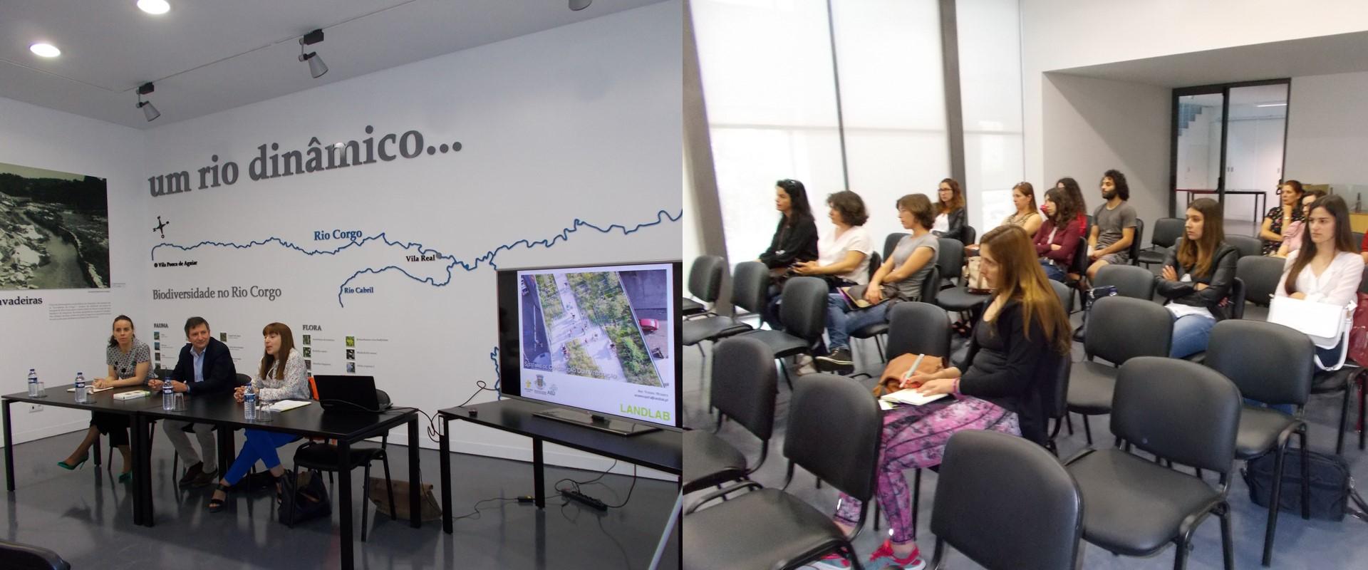 """Workshop """"Coberturas e Paredes Verdes"""" marcou o segundo dia da Semana do Ambiente de Vila Real"""