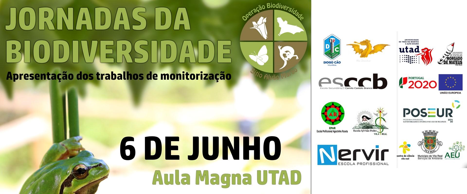 Jornadas da Biodiversidade decorrem no dia 6 de junho