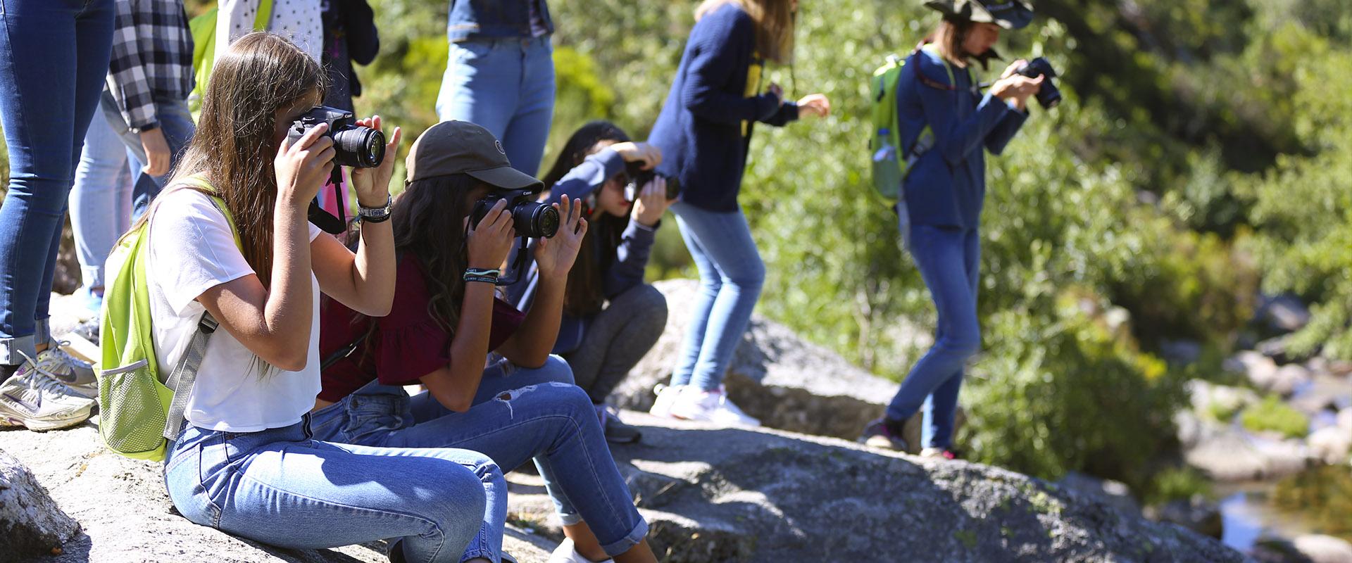 Curso Juvenil de Fotografia de Natureza pautou-se por um enorme sucesso