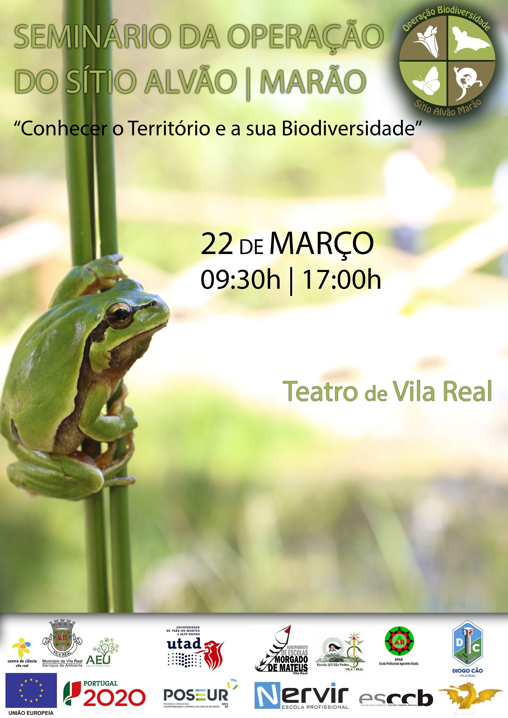 Seminário da Operação Biodiversidade do Sítio Alvão-Marão